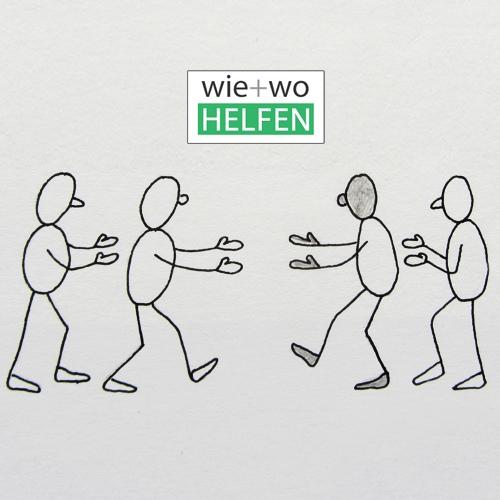Logo Wie Wo Helfen