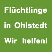 Logo Initiative Flüchtlinge in Ohlstedt | Wir helfen!