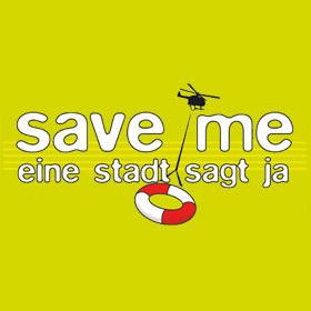 Logo 'save me'