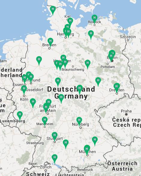 wie-wo-helfen Karte Flüchtlingshilfe (Stand 20.09.15)